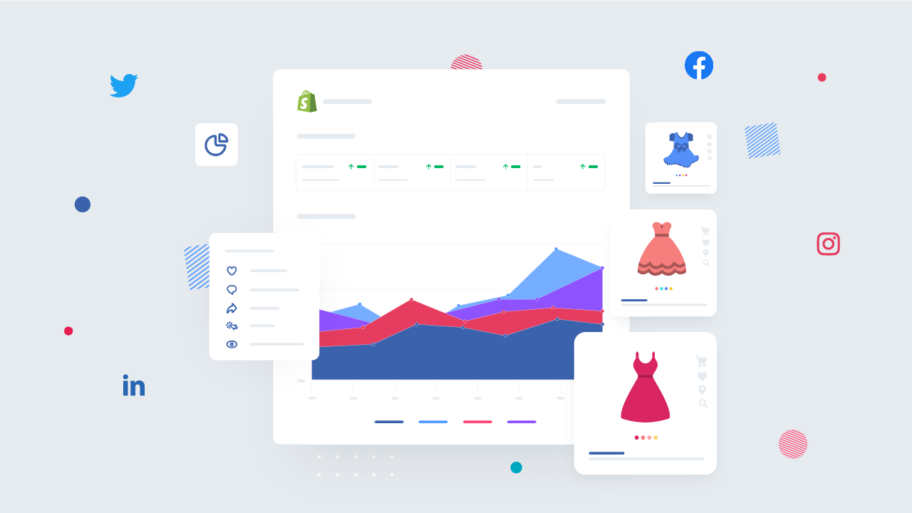 Social Driven Shopify Reports For eCommerce