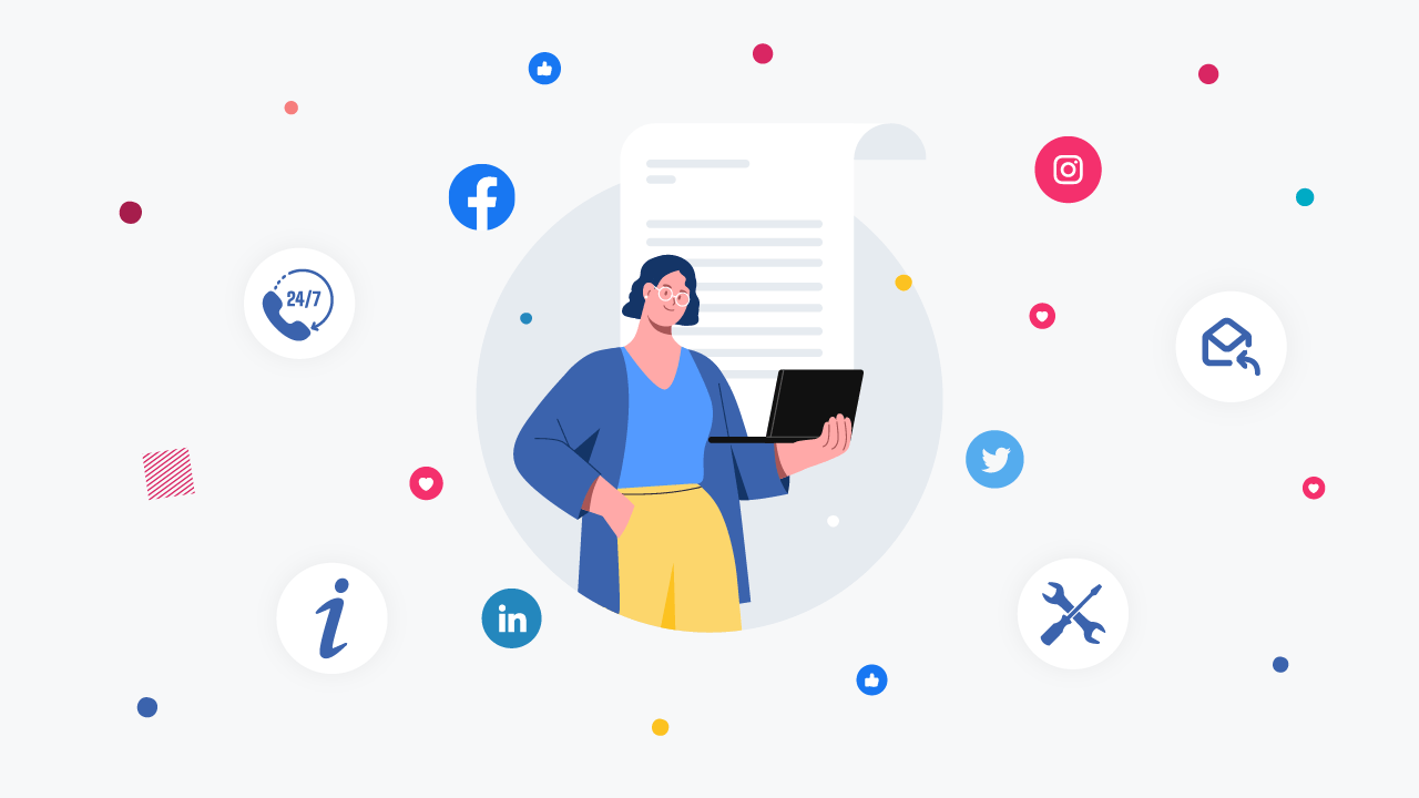 30 Social Media Customer Service Scripts For Businesses [Quick Reply Templates]
