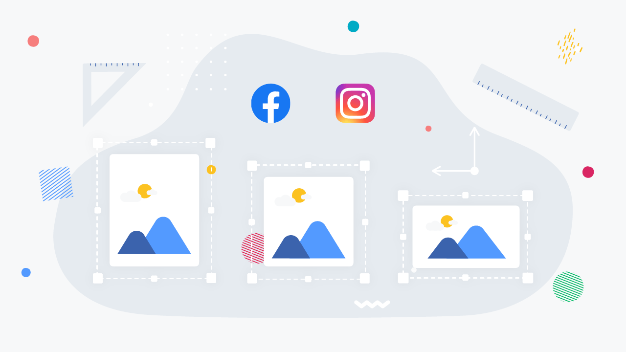 Guide To Instagram And Facebook Ad Image Sizes + [Infographic]