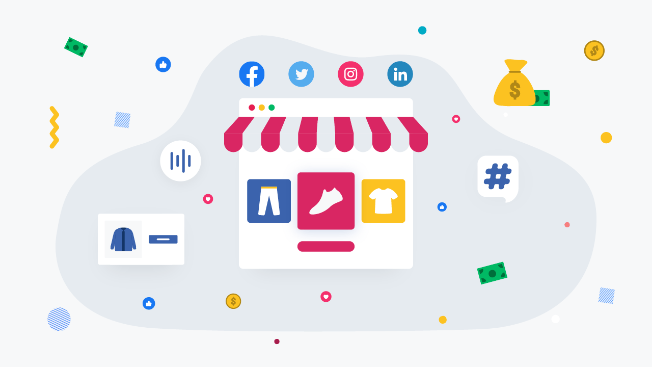 Integrating Social Media With eCommerce Store To Boost Sales